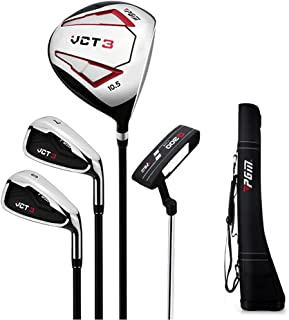 4 Delige Complete Heren Golfclub Set, Complete Beginners Set, Graphite Shaft, Heren, Rechterhand