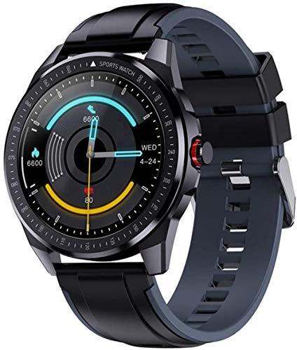 Exquisito reloj inteligente Sn88 para hombres 1 28 pulgadas Ip68 impermeable reloj inteligente con monitor de ritmo cardíaco rastreador de fitness para Android iOS ser diferente/E-F