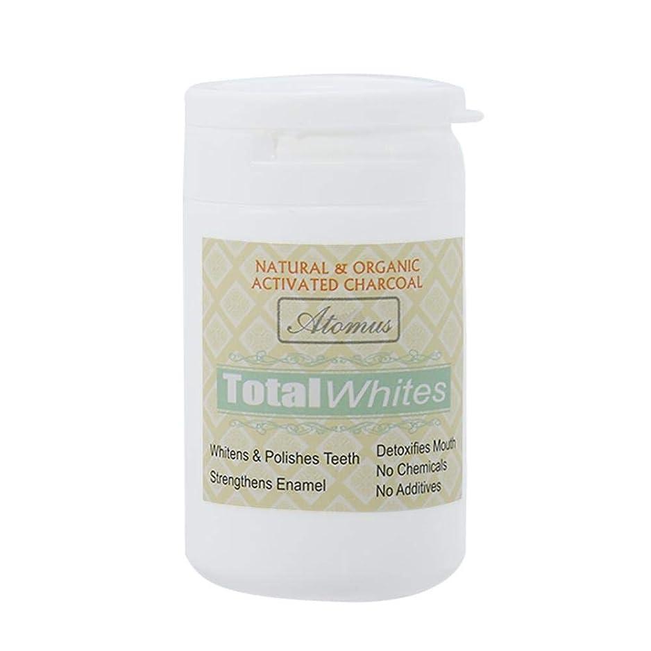 散髪開発する遅い歯のホワイトニングパウダー、活性炭の歯のホワイトナーパウダー - 有機安全で効果的なホワイトナーの解決策 - ホワイトニングの歯とフレッシュな息