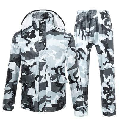 Starry Sky camouflagepatroon, voor volwassenen, regenbescherming, waterdicht, voor buiten, jas, fiets, motorfiets, regen, transparant, voor poncho