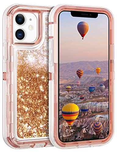 Coolden Compatible with iPhone 12 Case iPhone 12 Pro Case Glitter...