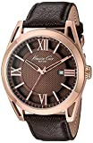 Kenneth Cole New York Men's KC8073 Classic Analog Display Japanese Quartz Brown Watch