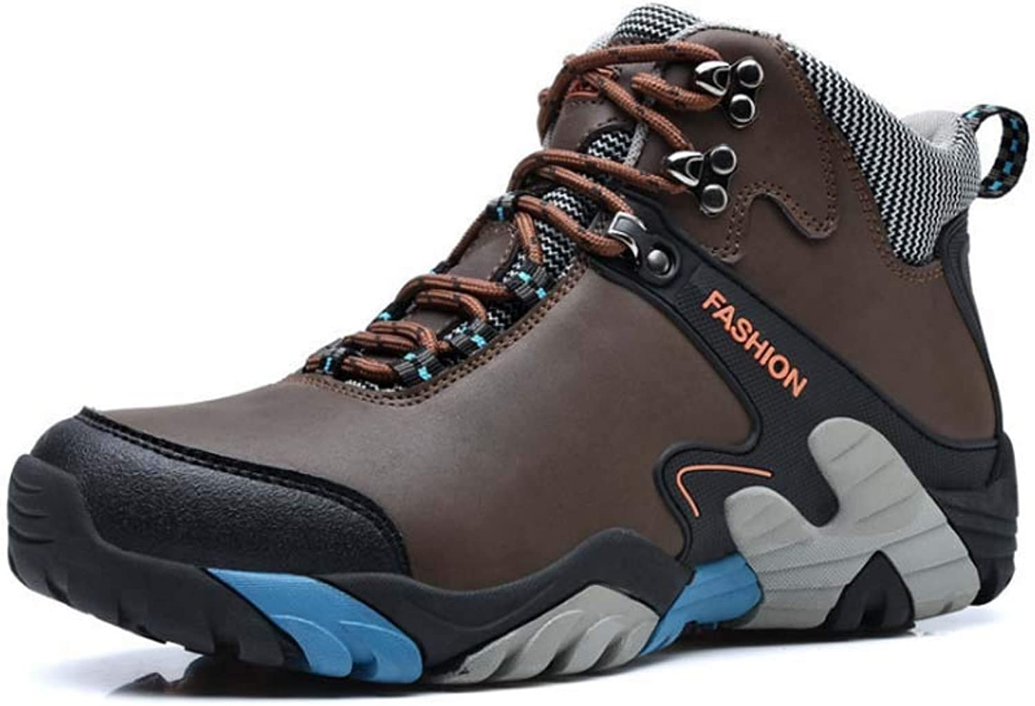 Men Outdoor Hiking shoes Hiking Warm Ankle Boots Slip Wear Sneakers shoes Outdoor Adventure Leisure Travel shoes Large Size