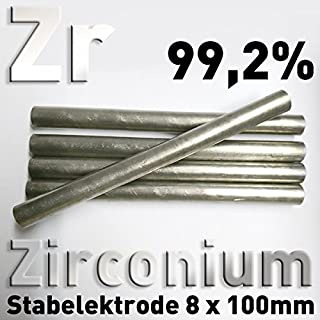 CU Rame 99,9/% circa anodo 100 x ⌀ 6 mm galvanica elettrolisi circa asta elettrodo
