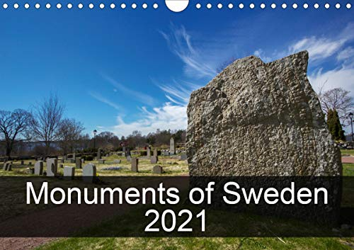 Monuments of Sweden 2021 (Wall Calendar 2021 DIN A4 Landscape)