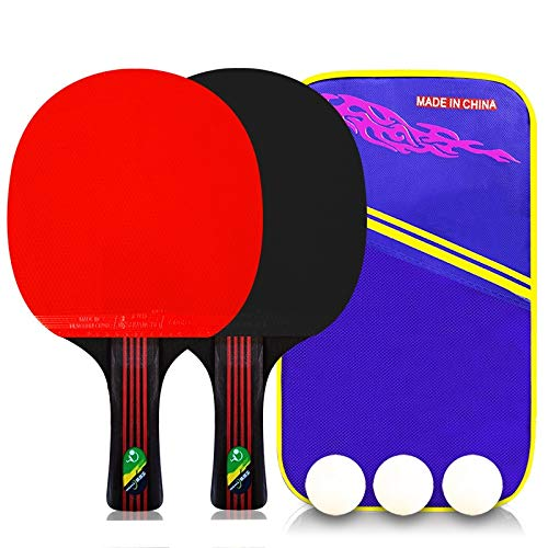 Find Discount Hewen-Ping Pong Set Pingpong Racket Table Tennis Racket Pingpong Paddle Ping Pong Bat ...