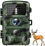 AKASO Trail Camera 16MP 1080P Hunting Scouting Cam TC05 with Motion Activated Night