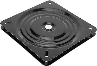 Mumusuki Base giratoria 360 ° Base Cuadrada Universal para Hardware Giratorio Placa Base giratoria Accesorio para Muebles para el hogar 10in