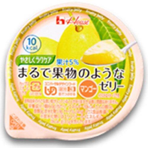 やさしくラクケア まるで果物のようなゼリー マンゴー 60G×12個  (UD区分3)