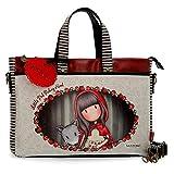 Bolso Gorjuss para ordenador Little Red Riding Hood, 39 cm,Multicolor