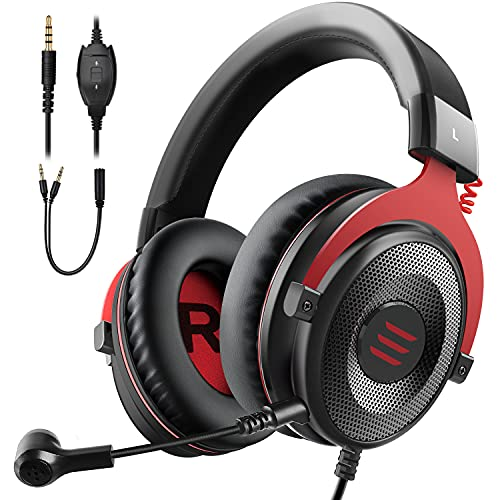 EKSA E900 Pro Gaming Headset with 7.1 Surround Sound and Noise Cancelling mic