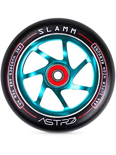 Slamm Scooters Slamm Astro Wheels Ruedas Skateboard, Adultos Unisex, Azul (Blue), 100 mm