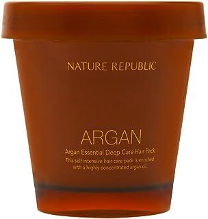 Nature Republic Argan Essential Deep Care Hair Pack, 200 ml / 6.76 Fl Oz