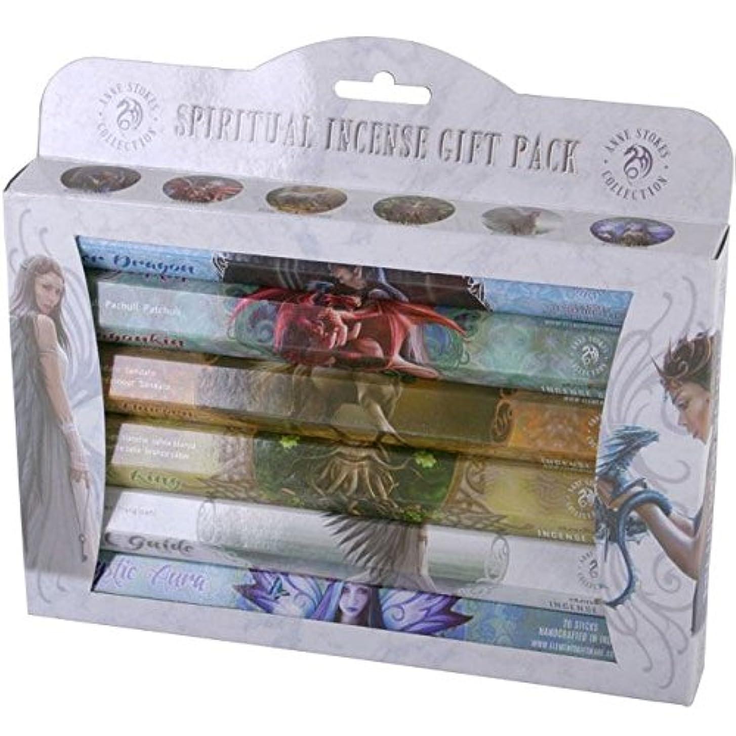 特別なスリットアスペクトSpiritual Incense Stick Gift Pack by Anne Stokes