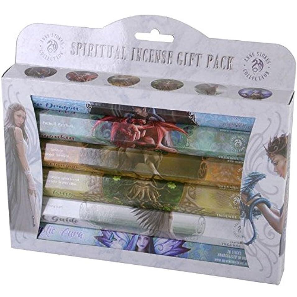 避難するジャーナルオセアニアSpiritual Incense Stick Gift Pack by Anne Stokes