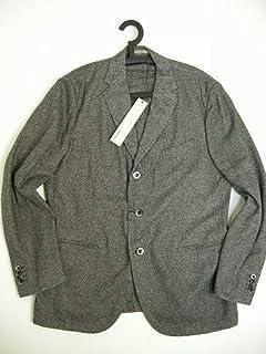 [ボリオリ] BOGLIOLI ウール混テーラードジャケット3ボタンJKT ブレザー チェスターコート スーツ サイズ56(XXL-XXXL) グレー系 [並行輸入品]