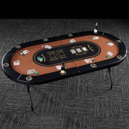 Barrington 10 Player Poker Table 82 x 44