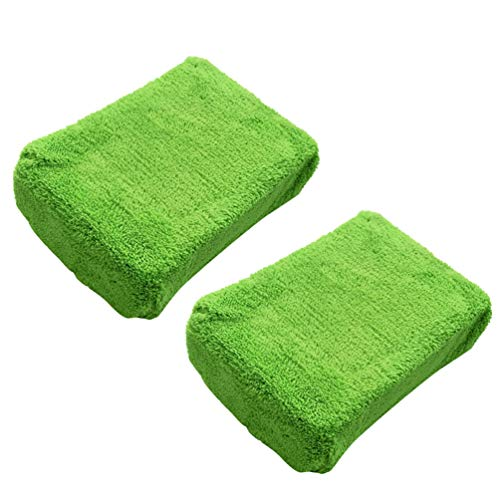 FAVOMOTO 2 Unidades de Esponjas para Lavado de Coches Esponjas para Limpieza de Cocina Esponja para Ventana de Vidrio Limpiador para Coche
