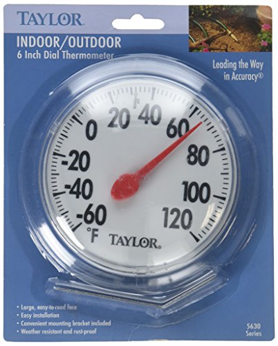 Taylor Precision 5630 6  Dial Thermometer