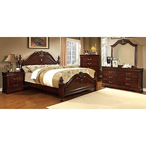 Why Should You Buy 247SHOPATHOME Bedroom set, King, Cherry