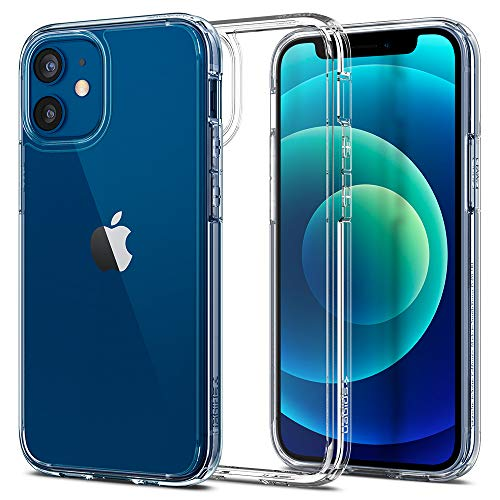 Spigen Ultra Hybrid Designed for iPhone 12 Mini Case (2020) - Crystal Clear