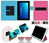 Hülle für Blaupunkt Endeavour TV Seven Tasche Cover Hülle Bumper   in Pink   Testsieger