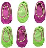 Jefferies Socks Mädchen Nahtlose Socken, 6 Stück - mehrfarbig - Klein