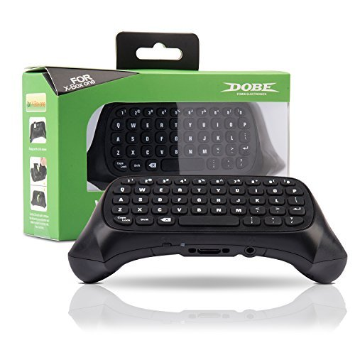iNNEXT Xbox One Chatpad Keyboard KeyPad [with Headset/Audio Jack] Best for Wireless Chat - Built in USB Receiver for Xbox One Game Controller - Easy Sync with your Controller