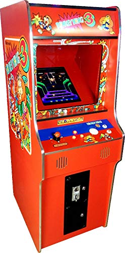 US-Way e.K. G-18 Red Arcade Video Maschine TV Spielautomat Standgerät Cabinet Automat 412 Spiele Jamma Games Machine