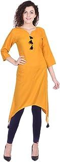 Vihaan Impex Indian Tunic Long Cotton Women Dress Partywear Kurti for Women