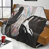 LeosWare Manta de lana de cordero súper suave y cálida, apta para sala de estar, dormitorio, sofá, viajes, coche, unisex, varios tamaños para decorar la casa de 201 x 152 cm