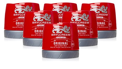Brylcreem Original Red Hair Cream, 250 ml, 6 stuks
