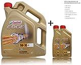 2x 1 L + 5 L = 7 Liter Castrol Edge Fluid Titanium 5W-30 C3 Motoröl