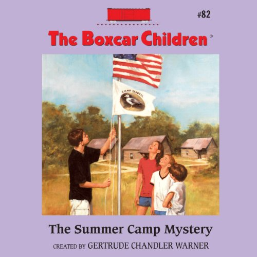 The Summer Camp Mystery cover art