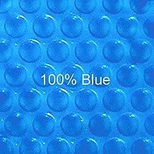 Doheny's 12 ft x 18 ft Rectangular Solar Cover-Blue Blue 12ML