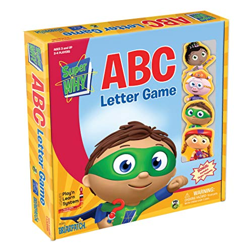 Briarpatch Super Why ABC Game