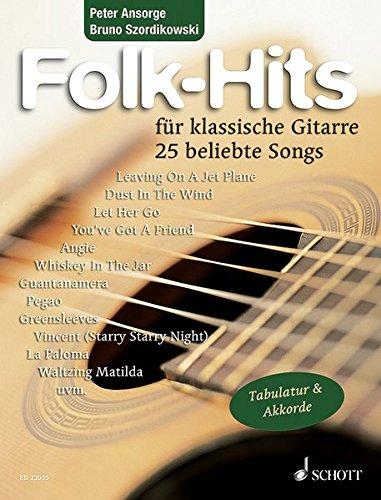Folk-Hits: 25 beliebte Songs. Gitarre. Spielbuch.
