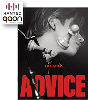 Taemin - [Advice] (The 3rd Mini Album) [Pre Order] CD+Photobook+Folded Poster+Others with Tracking, Extra Decorative Stick...