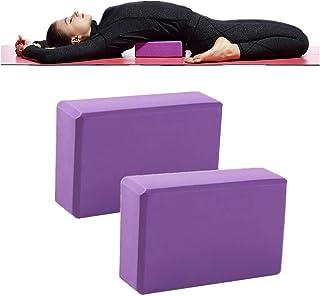 WINOMO Brique Yoga Blocs de Yoga en Mousse pour Exercice Fitness 2pcs
