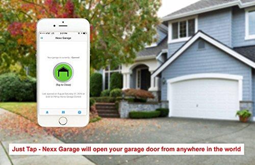 NEXX Garage NXG-100 NXG Remote Compatible Door Openers - Control Using Smart Phone, Amazon Alexa and...