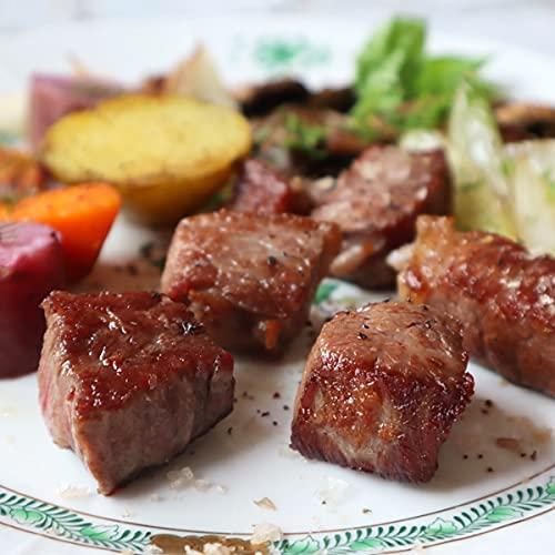 超熟成とちぎ霧降高原牛135日ドライエイジングサイコロステーキ dryaging dice cut steak