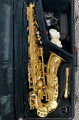 YAMAHA Alto Saxophone YAS-62 III YAS62 YAS-62-03 Gold lacquer finish alt sax