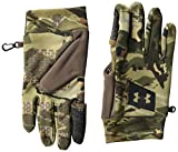 Under Armour Men's Hunt Early Season Fleece Gloves , Ua Forest 2.0 Camo (988)/Black , Medium