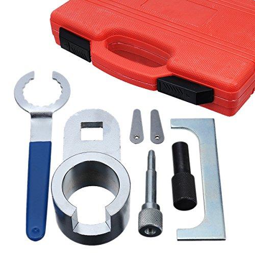 GOZAR Timing Locking Tool Kit Für Motoreinstellung Nockenwelle Kurbelwelle Kohlenstoffstahl