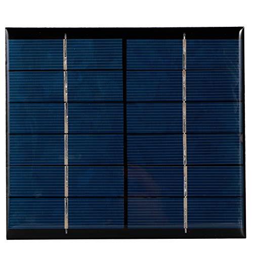 Mini panel de cargador solar de polisilicio de 2,5 W y 6 V, módulo de placa de célula solar DIY para juguetes solares, luces, pantallas