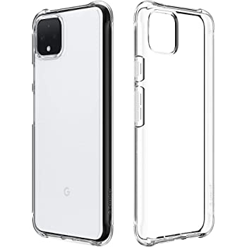 Caseology Solid Flex Crystal for Pixel 4 Case (2019) - Crystal Clear