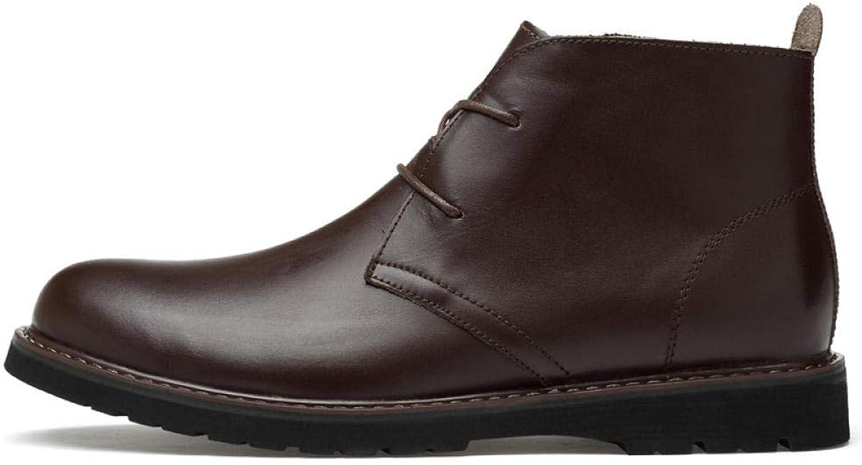 Herren-Schnürhalbschuhe Herren-Schnürhalbschuhe Lederschuhe Für Herrenbusiness-Schuhe, Business-Schuhe, High-Top-Schuhe  sehr gefragt sein