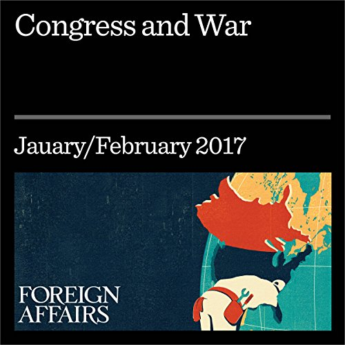 Congress and War audiobook cover art
