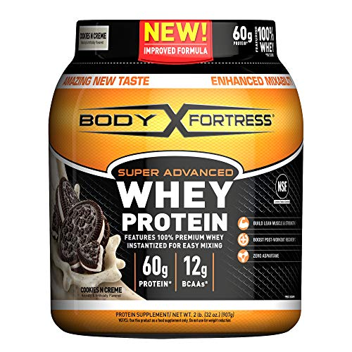 Body Fortress Super Advanced Whey Protein Powder, Cookies N' Cream, 2 Pound (Packaging May Vary) New Mexico