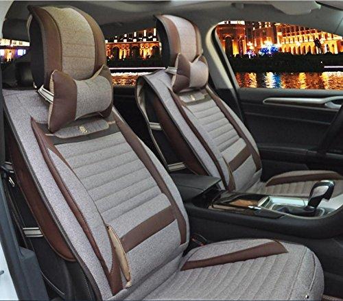 AMYMGLL Coussin de voiture Général Couverture Linge Deluxe (8SET) Édition générale coussin voiture couverture des options Four Seasons Universal 5 Couleur , 5
